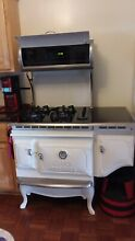 Elmira Stove Works Used Reproduction Antique Stove  Gas Cooktop Electric Oven