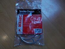 Secadora 4   Dryer Hose TENSION CLAMP s  2   New in Package