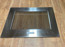Kitchenaid Wall Oven Double Oven Outer Stainless Door   Glass W10237351