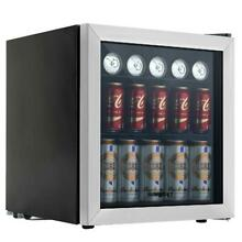 KUPPET 62 Can Beverage Cooler and Refrigerator  Small Mini Fridge with Glass Doo