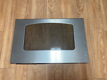 GE Range Oven Stove Stainless Door Assembly with Glass WB57K10126