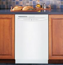 GE Profile Dishwasher  white  good used condition  3 years old