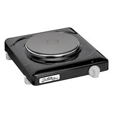 BroilKing PCR 1B Cast Iron Solid Disc Single Burner Hot Plate  Black  For Parts