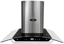 Range Hood Wall Mount 30  Glass Canopy LH2 30G by LessCare