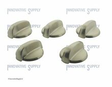 GE General Electric Burner Knob WB03K10305 WB03K10294    SET of 5  NEW