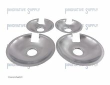Drip Pans Jenn Air for Coil Element 715877 and 715878 Set of 4  2 ea
