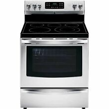 5 4 Cu  Ft  Electric Range W  Convection Oven   Stainless Steel