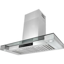 30  Wall Mount Stainless Steel Touch Screen Cooking Range Hood Vent LED Lights