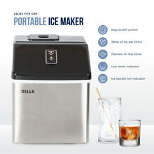 NEW Freestanding Portable Electric Ice Maker Machine Countertop 28 lbs Per Day