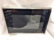 T7  Sharp R8575A Carousel II Microwave Convection Door Assembly