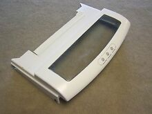 WR31X10044 GE REFRIGERATOR BOTTOM MEAT PAN DRAWER COVER FRAME