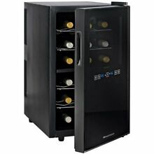 Wine Enthusiast Silent 18 Bottle Dual Zone Touchscreen Wine Cooler