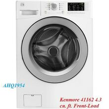 Kenmore 41162 4 3 cu  ft  Front Load Washer   White    Wade Hampton SC