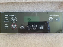 GE Range Touch Screen Control Panel Genuine OEM GE Part   WB27T10686