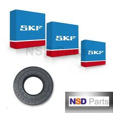 NEW SKF GE  W10253864 AP4426951 8181666 FRONT LOAD WASHER BEARING KIT 118