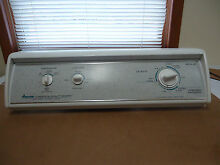 AMANA WASHER CONSOLE WITH TIMER   SWITCHES   KNOBS FITS MODEL LWA30BW