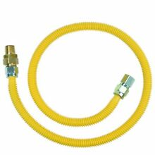 Natural Propane Gas Appliance Range Stove Line Connector Fitting Hose Tool 48 in