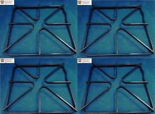 4 WB31K10012   4PK Burner Grates for General Electric Gas Range