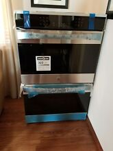 BRAND NEW NEVER USED KENMORE ELITE 30  STAINLESS DOUBLE CONV OVEN MODEL  48453