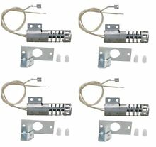 Gas Range Round Igniter 4 Pack for Whirlpool  Sears  GE  4342528  WB2X9154
