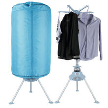 900W Electric Air Clothes Dryer Compact Portable Machine Stand Rack Holder  Blue