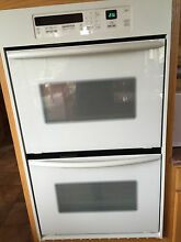 KITCHENAID 30  SUPERBA CONVECTION DOUBLE OVEN BISCUIT