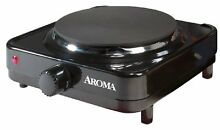 Aroma Electric Countertop Portable Single Burner Hot Plate burner quickly