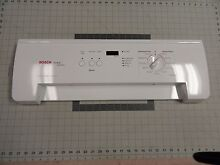 00446462   446462 Bosch Dryer Control Panel White