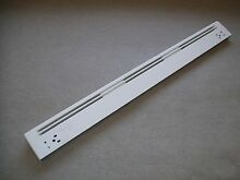 WB07T10230 GE Range Oven Door Handle Vent Trim White