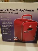 NEW Portable Igloo Mini Fridge Warmer RED