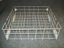 WPW10199800 WHIRLPOOL DISHWASHER LOWER RACK ASSEMBLY W  WHEELS