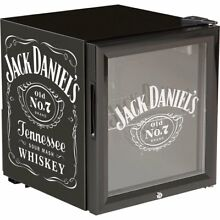 Nostalgic Mini Fridge Jack Daniel s Beverage Cooler Garage Game Room Man Cave