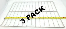 3 Pk  Oven Rack for Whirlpool  Sears  AP4511708  PS2377663  W10282492