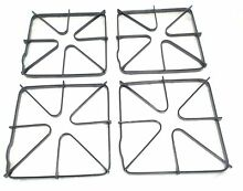 4 WB31K6  Gas Stove Top Burner Grate 4 Pack for General Electric