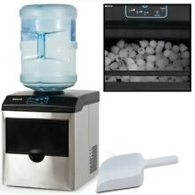 Ice Maker Water Dispenser Machine Countertop Portable Della 40 Pound Stainless