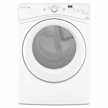 WHIRLPOOL 7 4 CU  FT  FRONT LOAD ELECTRIC DRYER WHITE WED72HEDW