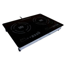 True Induction Mini Duo MD 2B Counter Inset Double Burner Induction Cooktop