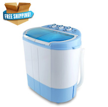 Portable Electric Washing Machine For Small Spaces Dorms Studio Room Apartments