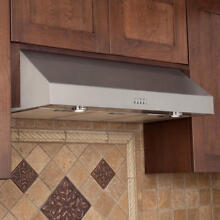 36  Fente Series Stainless Steel Under Cabinet Range Hood with 600 CFM Fan