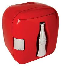 Coca Cola Personal Cube Fridge Red