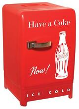 Coca Cola Retro Fridge Red