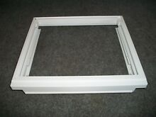 2203034 KITCHENAID REFRIGERATOR MEAT PAN COVER FRAME