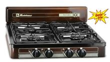 4 Burner Camping Stove Gear Portable Patio Compact Gas Range Outdoor Kitchen New