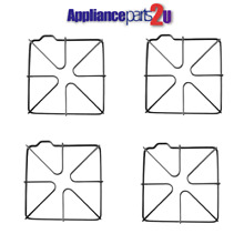 WB31K6  NEW  4 PACK  REPLACEMENT FOR GE   HOTPOINT GAS RANGE   GRATES X 4