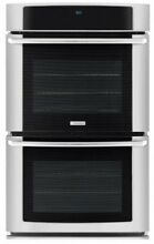 ELECTROLUX 30  9 6 cu  ft  Electric Double Convection Wall Oven EI30EW45PS