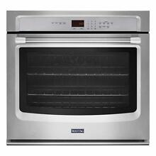 Maytag MEW7527DS 27  Electric Wall Oven w  Precision Cooking System Stainless