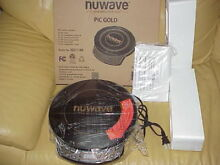 NuWave PIC Gold 1500W Portable Induction Cooktop Countertop Burner 30211 BR