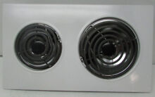 New Jenn Air Expressions Line Electric Coil Cooktop Cartridge Assy  WHite AC110W