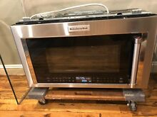 KitchenAid KMHC319ESS 30  Stainless Steel Over the Range Microwave