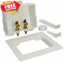 Eastman 60245 1 2 in PEX Dual Outlet Washing Machine Box